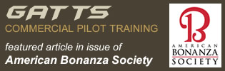 American Bonanza Society GATTS commercial training feature